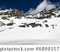 snow, mountain, snowy 46809357