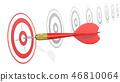 Hitting Target. 46810064