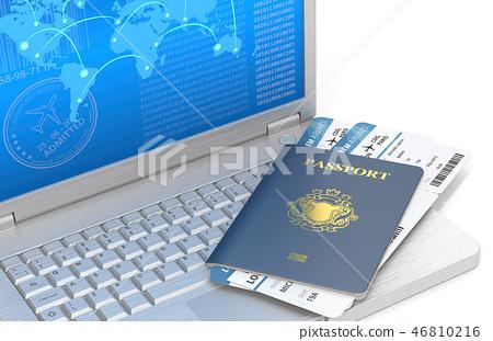 Online Travel. 46810216