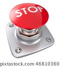 Stop Button. 46810360