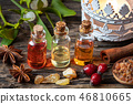 Christmas collection of essential oils  46810665