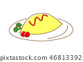 Omurice Ketchupplese 46813392