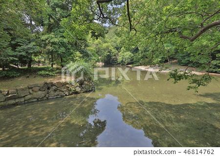 an Zen garden, Ritsurin Park, Takamatsu, Shikoku 46814762