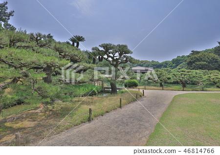 an Zen garden, Ritsurin Park, Takamatsu, Shikoku 46814766