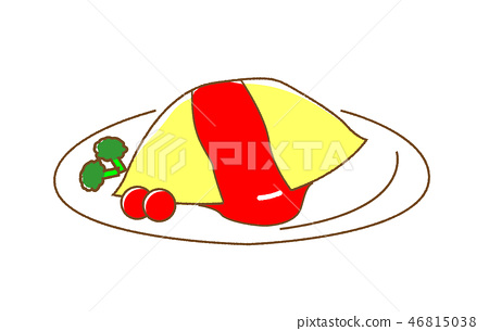 Omurice Ketchupplese 46815038