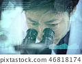 實驗圖像研發顯微鏡 46818174