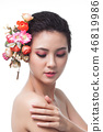 Portrait beauty woman  46819986