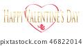 情人节的标志/图标 46822014