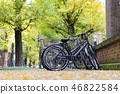 Bicycle parking inside the University of Tokyo 46822584