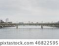 The bridge for japanese train Tobu line 46822595