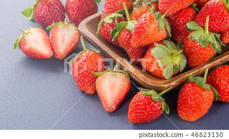 草瓜水水果冬天天堂冬季彩色背景草莓草莓草莓 46823130