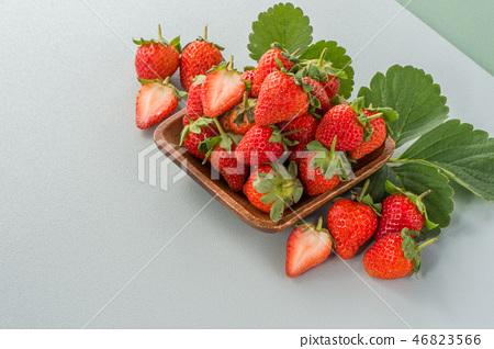 草瓜水水果冬天天堂冬季彩色背景草莓草莓草莓 46823566