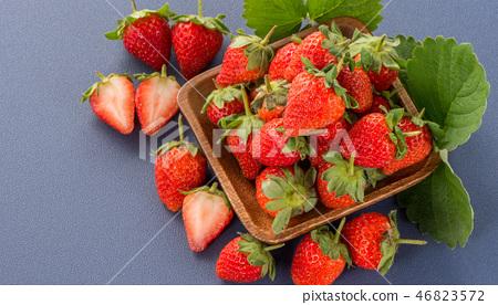 草瓜水水果冬天天堂冬季彩色背景草莓草莓草莓 46823572