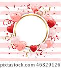 heart background frame 46829126