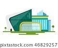 Modern Vector Flat Design Buildings 46829257
