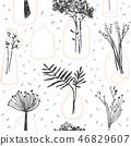 background, flower, blossom 46829607