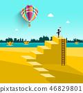 balloon, man, travel 46829801