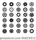 gear vector cogwheel 46829912