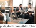 interview, businessman, partnership 46832942