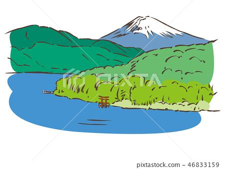 Ashigarashimo-gun, Kanagawa Prefecture / Lake Ashinoko 46833159