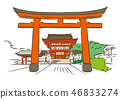 Kyoto Prefecture Kyoto City / Fushimi Inari Taisha 46833274