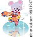 vector, vectors, mouse 46838067