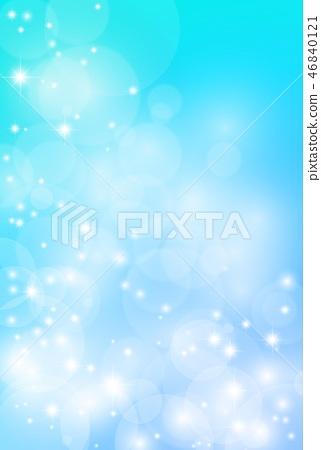 하늘색 반짝이 그라데이션 세로 46840121