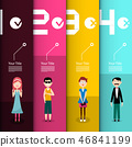 People Infographic Layout. Vector Infographics 46841199