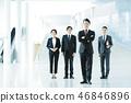 營業所商人女性隊男性 46846896