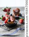 딸기 프렌치 토스트 46847066