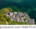 lake, hallstatt, city 46847514