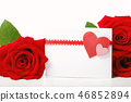 Valentine's Day concept theme with roses 46852894