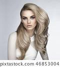 Sexy blonde 46853004
