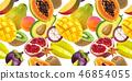 fruits papaya mango 46854055