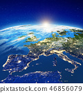 Europe at night 46856079