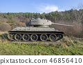 Russian famous tank t34, Death Valley in Slovakia 46856410