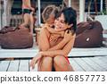 child daughter girl 46857773
