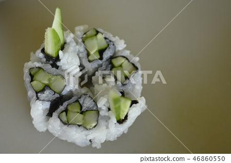 sushi roll, cucumber, cucumbers 46860550