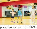 โรงเรียนการเต้นรำสปอร์ตคลับสำหรับเด็กรูปห้องเรียน 46860695