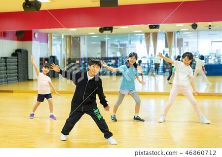 댄스 스쿨 스포츠 클럽 어린이 교실 이미지 46860712
