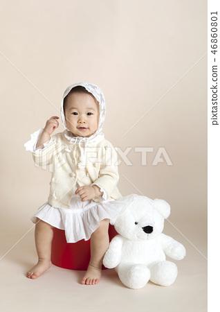유아,베이비,아기,크리스마스 46860801