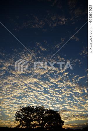 sunset, sky, cloud 46860922