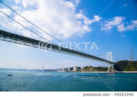日本九州海峽 Zhuzhou Japan Kyushu Sea 46861946
