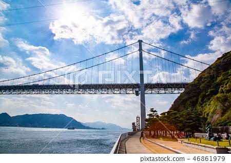 日本九州海峽 Zhuzhou Japan Kyushu Sea 46861979