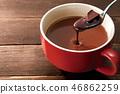 핫 초콜릿 이미지 46862259
