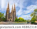 St Patrick's Cathedral in Melbourne, Australia 46862318