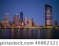 Brisbane skyline, capital of Queensland, Australia 46862321
