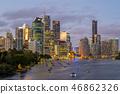 Brisbane skyline, capital of Queensland, Australia 46862326