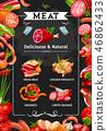 肉 熟食店 設計 46862433
