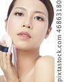 女性美容系列化妝 46863180